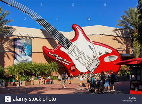 hollywood studios north little rock rock n roller coaster aerosmith guitar at hollywood