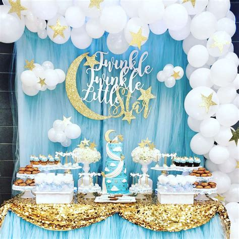 Twinkle Twinkle Decorations Baby Shower by Twinkle Baby Shower Ideas Photo 1 Of
