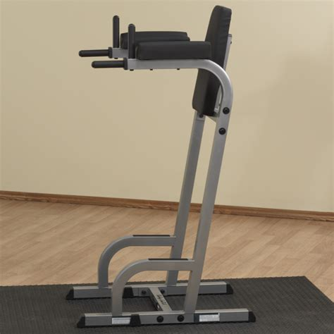 The Rack Dip Station by Solid Vertical Knee Raise Dip Stand Gvkr60