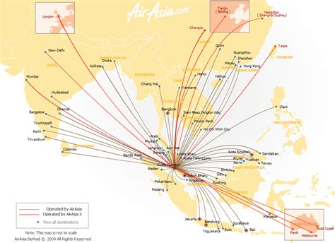 airasia destinations low cost airlines influence on asean aviation industry