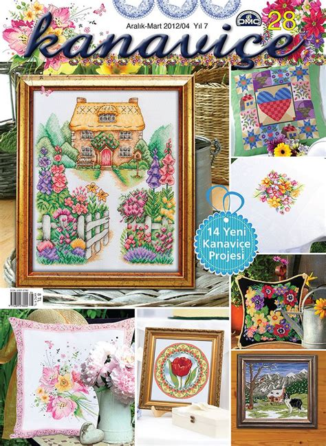 Kanavi 231 E Sayı 28 My House And Garden Cross Stitch Design