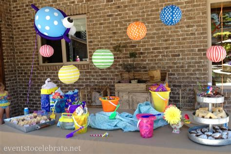 decorations for pool ideas events to celebrate