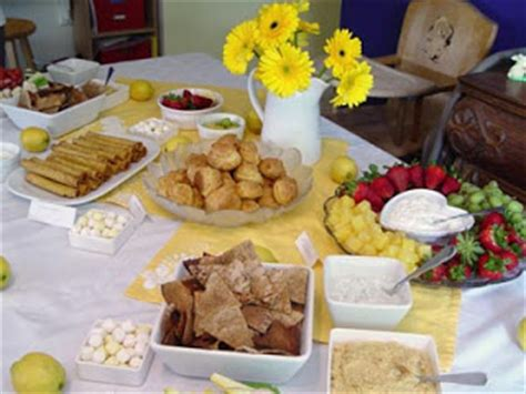 Food To Serve At A Baby Shower Luncheon by Baby Shower Food