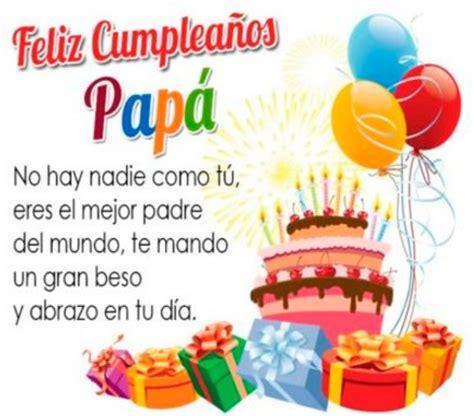 imagenes feliz cumpleaños papa especial de imagenes de feliz cumplea 241 os para papa con