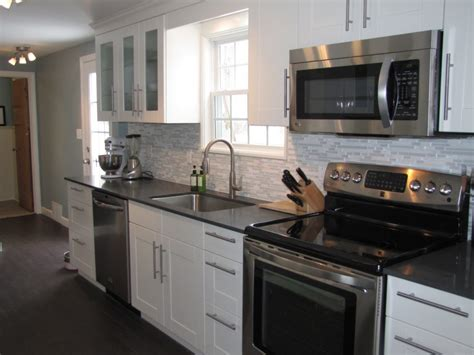 white cabinets with stainless appliances kitchen design white cabinets stainless appliances