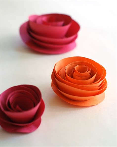 Easy Way To Make Paper Roses - lilly louise do it yourself paper flowers