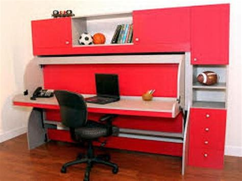 17 Minimalist Desk Bed Combo Designs For Students Bed And Desk Combo For