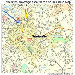 aerial photography map of snellville ga