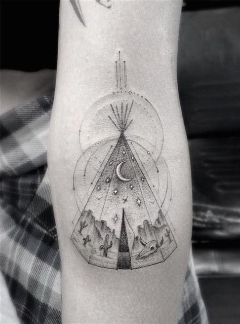 teepee tattoo teepee by dr woo