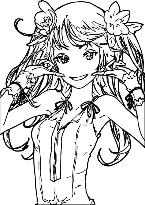 100 Cute Anime Coloring Pages Anime Holiday Coloring Pages Of Beautiful Anime