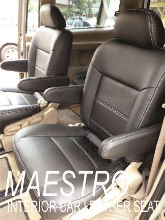 Sarung Pelindung Mobil Nissan Serena 1996 modifikasi interior nissan serena sarung paten jok mobil dengan bahan mbtech maestro