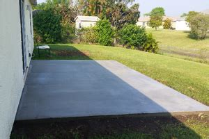 2017 concrete patio cost calculator average cost to pour