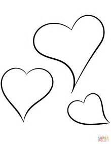imagenes de corazones para iluminar dibujos para colorear de corazones www imgkid com the