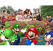 Mario Sonic The Eds And Friends Go To Dollywood