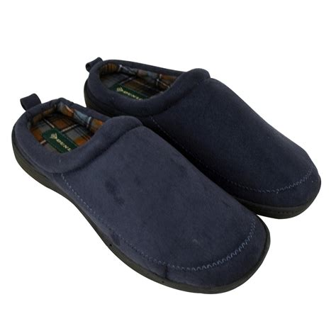 mens slippers wide fit mens dunlop luxury wide fitting mule slipper mules gents
