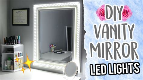 diy vanity mirror with led lights 20 diy vanity mirror led lights cheap and easy