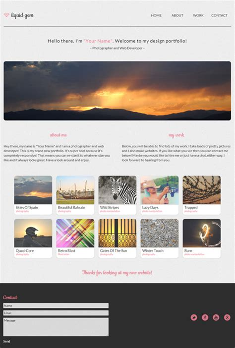 download layout php free 30 free responsive psd website templatespixel2pixel design