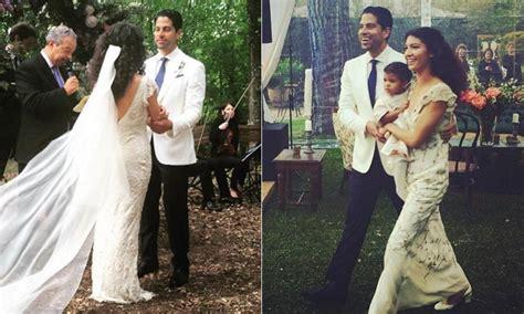 imagenes de csi miami la rom 225 ntica boda de adam rodriguez protagonista de csi