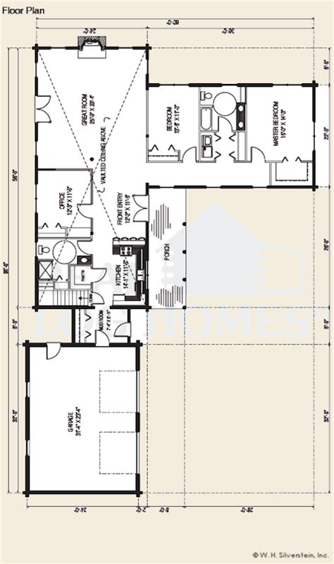 real log homes floor plans the kearney log home floor plans nh custom log homes