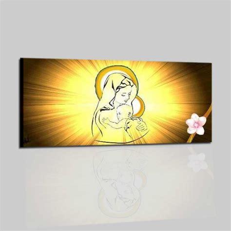 quadri religiosi per da letto quadro religioso dipinto a mano madonna con bambino