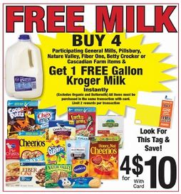 free milk at kroger coupon matchup mylitter one deal kroger free gallon of kroger milk with qualifying