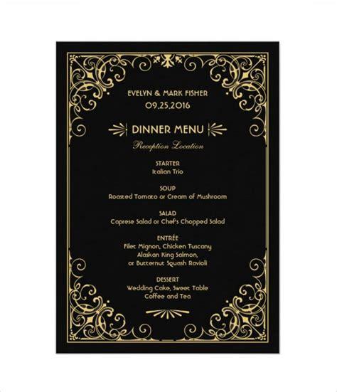 wedding menu cards dinner party menu cards shop menus for