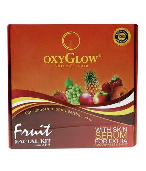 Oxy Glow oxy glow fruit kit 165gm buy oxy glow fruit