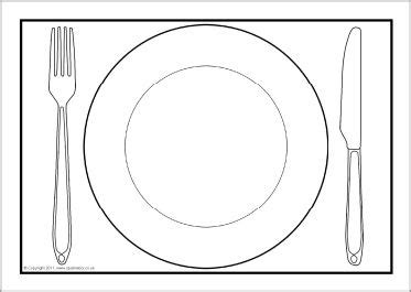 Dinner Plates Placemat And Plates On Pinterest Photo Placemat Template