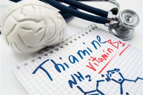 tiamina alimenti vitamina b1 dove si trova e quali sono le sue funzioni