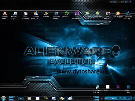 themes download games download theme windows 7 alienware evolution download