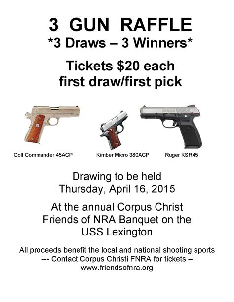 Nra 2017 Giveaway Org - gun raffle tickets 2015 autos post