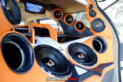 Speaker Vox Vr6p Modifikasi Fortuner By Gigajaya Cfs Bali Audionya Edan