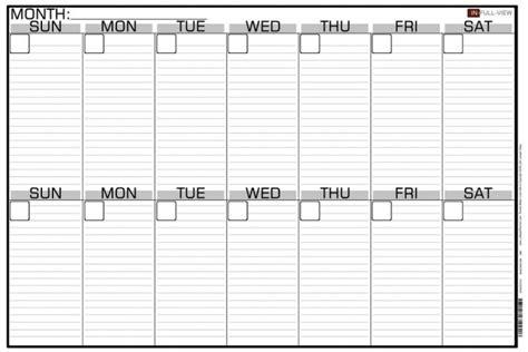 2 week calendar template two planner printable pictures regarding