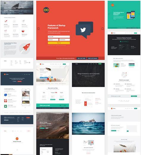 framework design last day build powerful websites with startup design