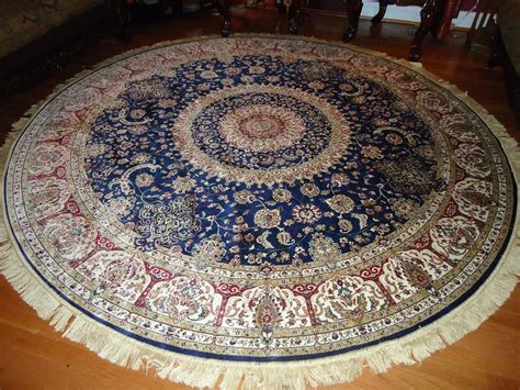 10 Ft Circle Rug - 6 ft area rugs tayse rugs garden city aqua in x in
