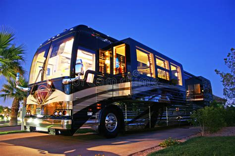 Luxery House Plans Luxury Bus Stock Photo Image Of Motorhome Motor Rich