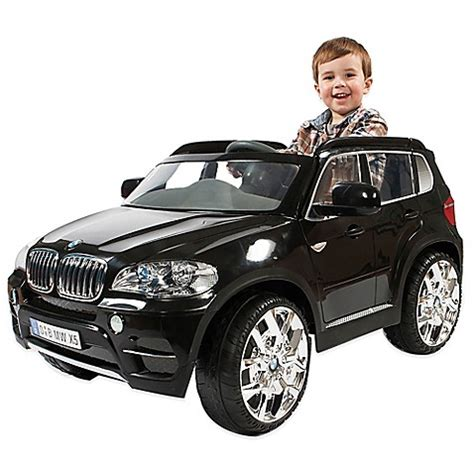 si鑒e auto toys r us bmw x5 ride on in black buybuy baby