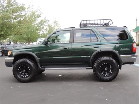 toyota 4runner lifted for sale 1999 toyota 4runner sr5 4x4 3 4l 6cyl lifted lifted