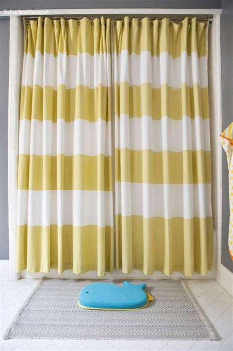 retractable shower curtain 25 best ideas about two shower curtains on pinterest