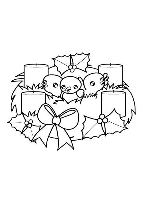 dibujos de adviento y navidad para colorear aula de reli corona de adviento dibujo para dibujar e imprimir