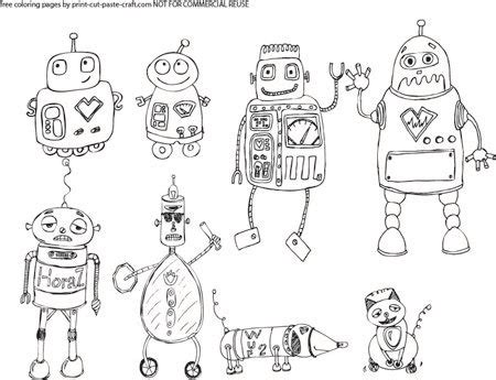 robot coloring pages pdf robots coloring page i created find the free printable