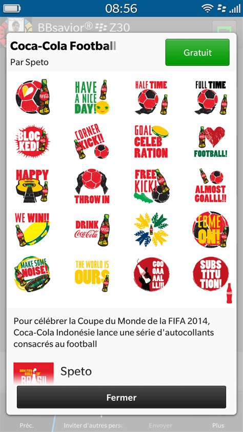 Stickers Coca Cola Gratuit by La Pack Gratuit De Stickers Bbm Coca Cola Indonesia