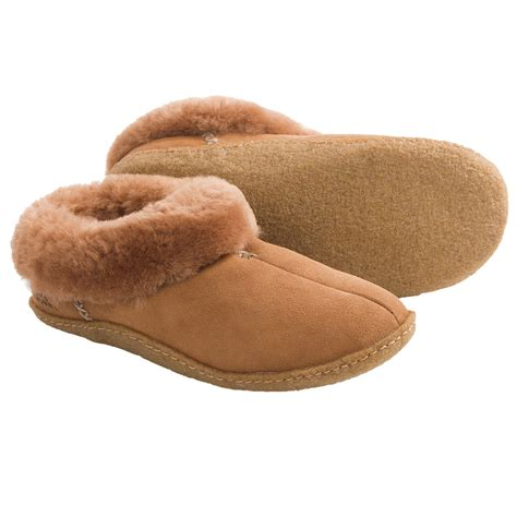 shearling slippers for sorel nakiska shearling lined slippers for