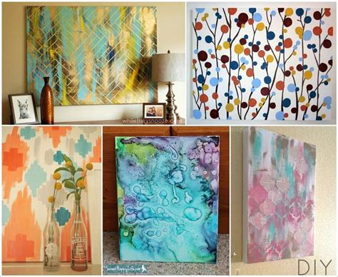 10 diy paintings that you can easily make for your home