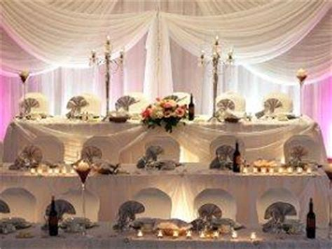 pictures  head table decorations slideshow