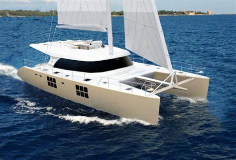 catamaran without sails sunreef yachts to launch new sunreef 58 sailing catamaran
