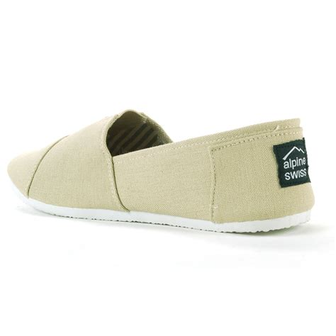 canvas flats shoes alpine swiss caroline womens canvas flats espadrille