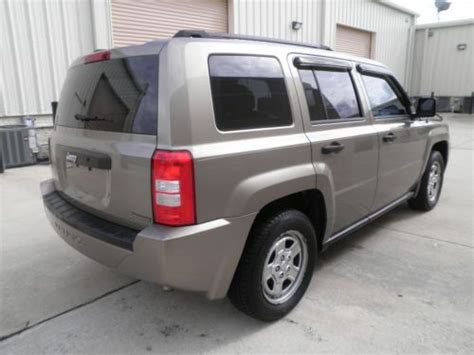 08 Jeep Patriot Find Used 08 Jeep Patriot Fl Vehicle No Reserve 1 Owner