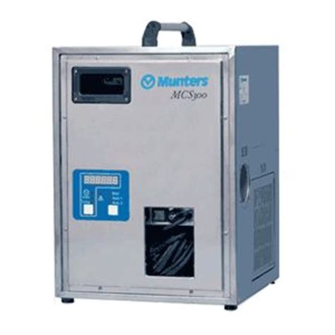 Ac Portable Munters munters mcs series industrial commercial desiccant dehumidifier mcs300