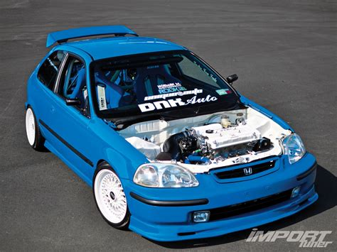 1996 Honda Civic Import Tuner Magazine
